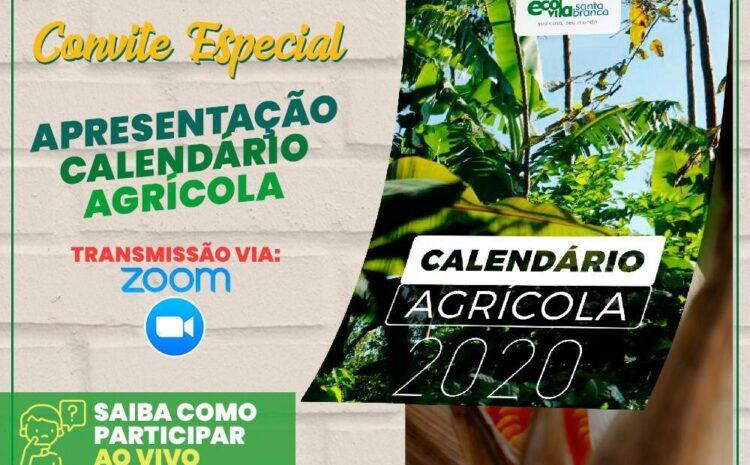 Apresentação online do Calendário Agrícola